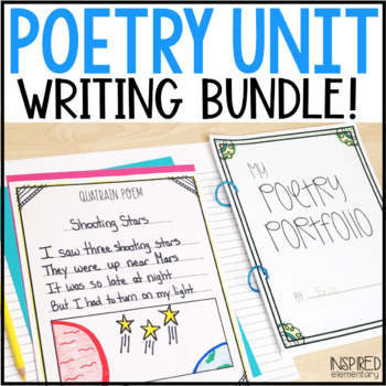 Poetry Unit: Writer's Workshop Bundle!