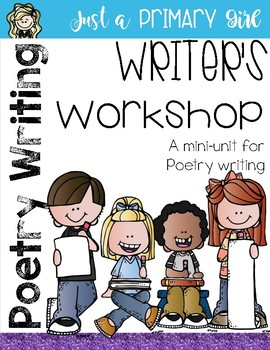 Poetry Unit Writing Templates and Charts