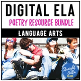 Poetry Unit and Activities Bundle   Google Classroom   Dis