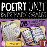 Poetry Unit for Primary Grades {Poetry Journal}