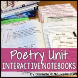 Poetry Unit for Interactive Notebooks