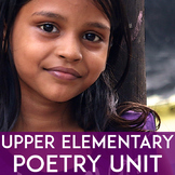 Poetry Unit: 4th, 5th, and 6th Grade | Elements, Writing, Activities