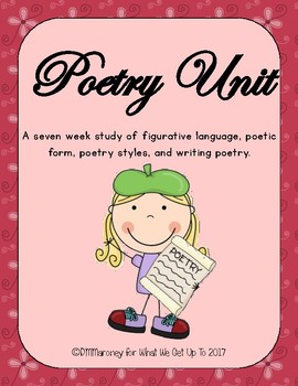 Poetry Unit for Upper Elementary Students