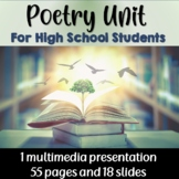 Poetry Unit (for senior students)