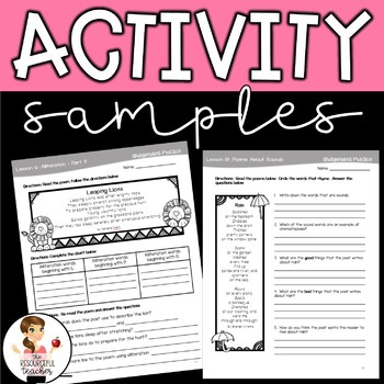 Poetry Writing Unit with Interactive Notebook & Lapbook