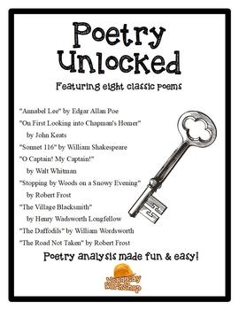 Poetry Unlocked - 8 classic poems together!