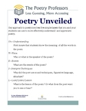 Poetry Unveiled One Sheet
