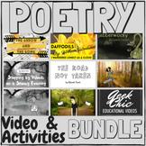 Poetry Video & Activities BUNDLE - Jabberwocky, Daffodils,