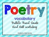 Poetry Vocabulary