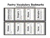 Poetry Vocabulary Bookmarks