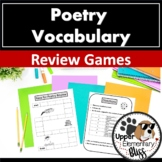 Poetry Vocabulary Review Games
