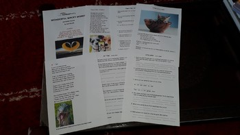Wacky Words: Fun Poetry with oral/written language and drama based activities.