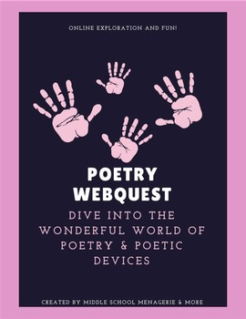 Poetry Webquest - Middle School Level Learning