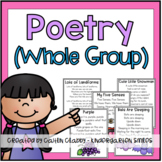Poetry (Whole Group Poems)