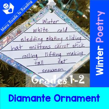 Poetry Winter Diamante Ornament