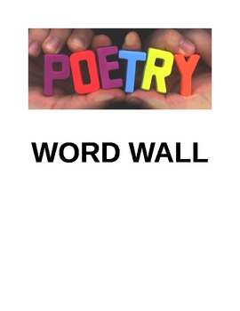 Poetry Word Wall