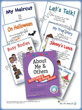 Poetry Works! About Me & Others: Rhymes to Read Aloud, Ages 3–5