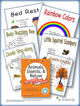 Poetry Works! Animals, Insects, & Nature: Rhymes to Read Aloud, Ages 3–5