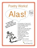 "Poetry Works!––""Alas!"", A Parody of Nursery Rhyme ""Jack and Jill"" & Activities"