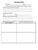 Poetry Worksheet- Creating a Vivid Mental Image