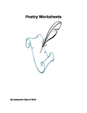 Poetry Worksheets