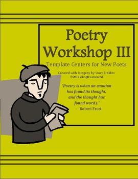 Poetry Workshop for Intermediate Writers