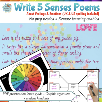 Poetry - Write Emotion Poems in 3 Easy Steps