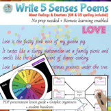 Poetry Lesson For Emotion / Feelings Poems in 3 Easy Steps