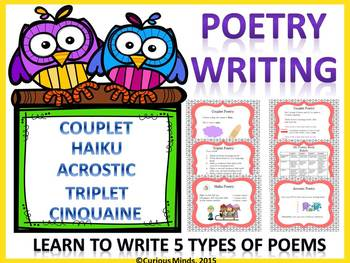 Poetry Writing Powerpoint Lesson