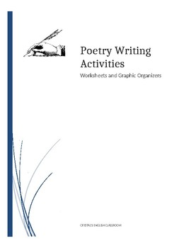 poetry activity worksheets