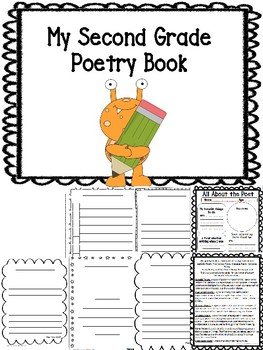picture about Printable Books for 2nd Graders identified as 2nd Quality College student Poetry Magazine E-book Printable