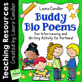 Buddy Bio Poems: Fun Poetry Writing Activity for Partners