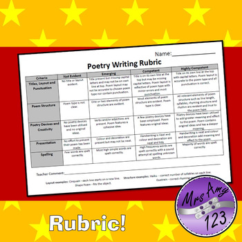 Poetry Writing Christmas Prompts