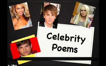 Poetry Writing: Dear Celebrity Poems!