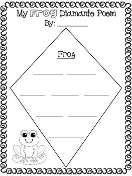 how to write a diamante poem Diamante is a seven line poem where the theme or topic of the poem   environmental print for students to use during other writing activities.