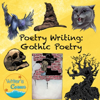 Reading and Writing Gothic Poetry, Substitute Plan, Poetry