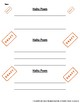 Poetry Writing - Haiku Poem Student Hand-Out
