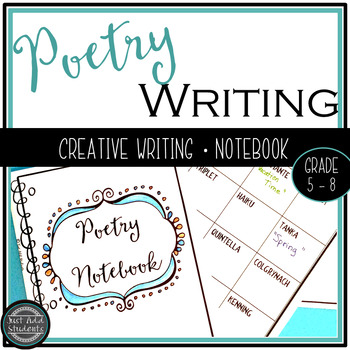 Poetry Writing Notebook {Creative Writing}