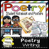 Poetry Writing Notebook, Posters, and Banner  #RockinNewYear