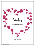 Poetry Writing - Ode