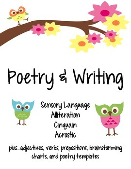 Poetry & Writing Pack