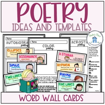 Poetry Writing Pack