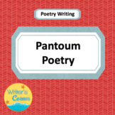 Writing Pantoum Poetry, CCSS, Fun, Substitute Plans, Rubric