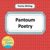 Writing Pantoum Poetry, CCSS, Fun, Substitute Plans, Rubric