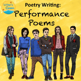 Writing Group Poetry, Choral Reading, Substitute Plan, Oral Interpretation