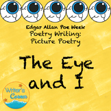 Writing Poetry about Pictures: Point of View,  Art,  Sub Plan, Poe Week Fun