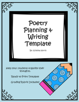 Poetry Writing & Planning Template