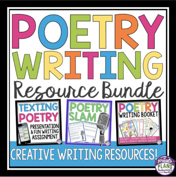 POETRY WRITING UNIT: PRESENTATIONS, ASSIGNMENTS, & ACTIVITIES