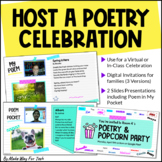 Poetry Writing Unit Celebration | Poetry for Google Slides