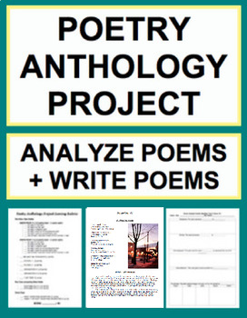 Poetry Writing Unit - Writing, Analysis & Figurative Langu